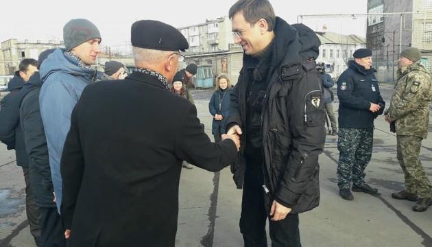 Глава Мінінфраструктури відвідав Бердянський морський порт