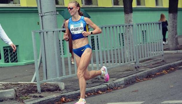 Українка Шафар була третьою на марафоні в Макао