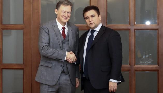 Kent, Klimkin discuss security in Ukraine
