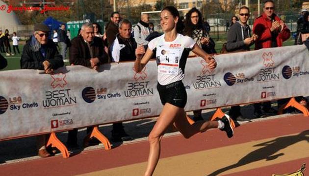 La corredora ucraniana Sofiya Yaremchuk gana el oro en las competiciones Best Woman en Italia