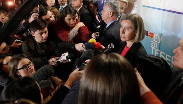 У Европейского совета будет сильная позиция по Украине - Могерини