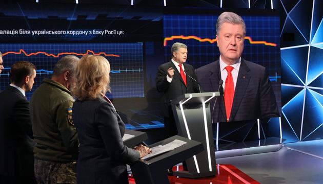 Poroschenko: Besetzung der Tempel ist Provokation, auf die Russland wartet