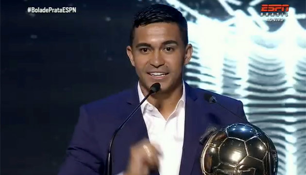 Экс-динамовец Дуду стал лучшим игроком чемпионата Бразилии по футболу