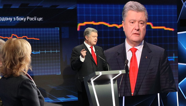 Putin is weaker than he wants to appear - Poroshenko