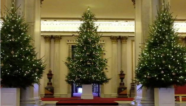 В королевском стиле: Букингемский дворец украсили к Рождеству