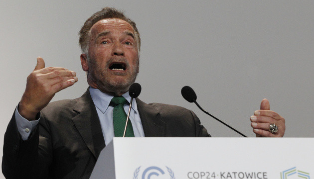 Шварценеггер закликав світ протистояти глобальному потеплінню