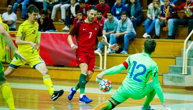 Футзал: сборная Украины сыграла вничью первый спарринг с Португалией