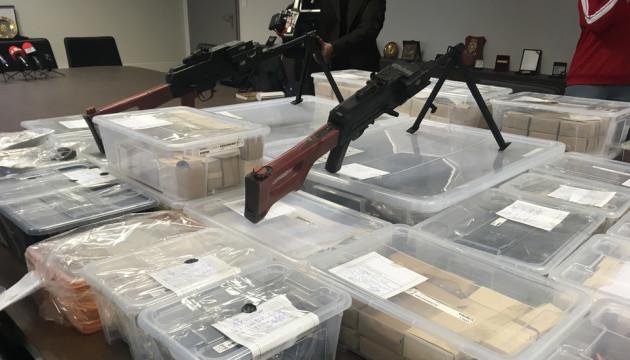 Германия усиливает борьбу с нелегальным оружием из Балкан