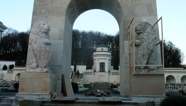 На Личаківському цвинтарі намагалися вчинити провокацію