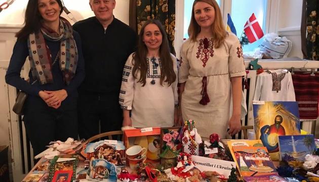 На благодійному ярмарку в Данії збирали кошти для жителів Донбасу