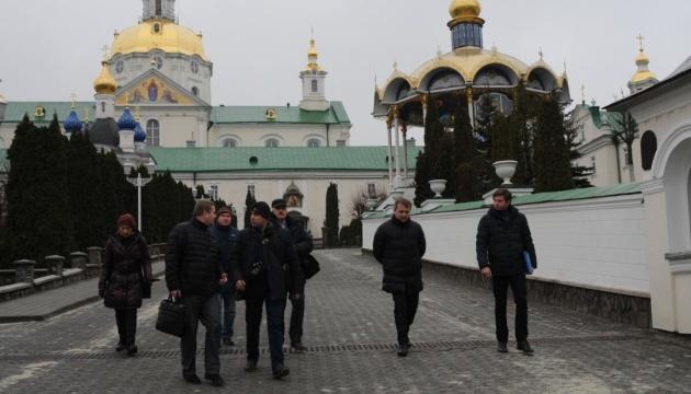 Музейники провели ревізію в Почаївській лаврі