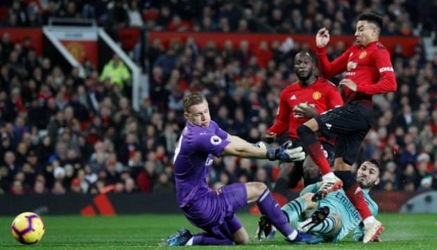 АПЛ: «МЮ» удержал ничью в матче с «Арсеналом»