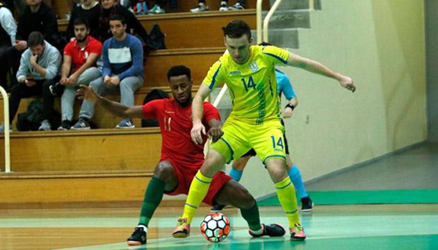 Футзальные сборные Португалии и Украины во второй раз сыграли вничью