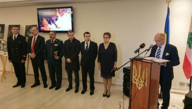 Українців у Лівані відзначили подяками за допомогу бійцям АТО