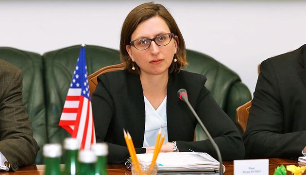 До Києва прибула заступниця глави Пентагону
