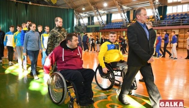 У Івано-Франківську відбулись спортивні змагання за участю ветеранів АТО, які отримали інвалідність