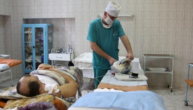 Львовский военный госпиталь принял 13 бойцов из зоны ООС