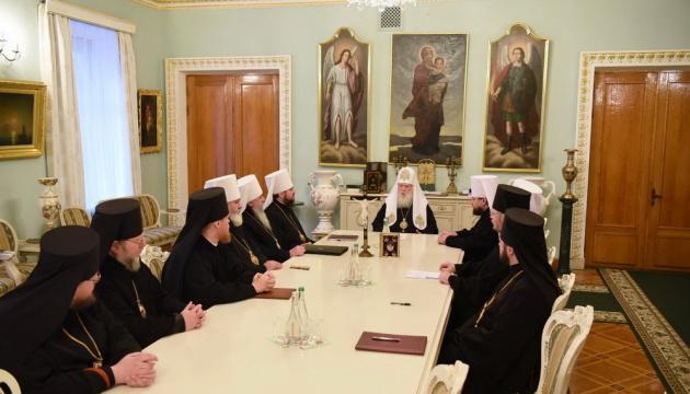 Синод УПЦ КП обговорив, із чим іти на Об'єднавчий собор
