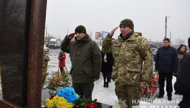 У Слов'янську вшанували пам'ять загиблих бійців, які першими стали на захист України