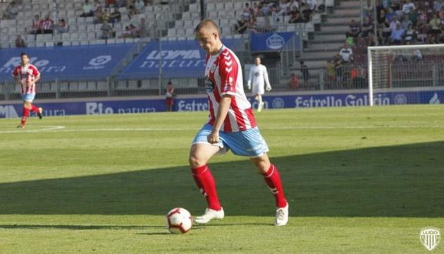Український футболіст Кравець у складі