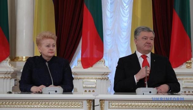 Poroshenko: 229 Ukrainian soldiers already undergone rehabilitated in Lithuania
