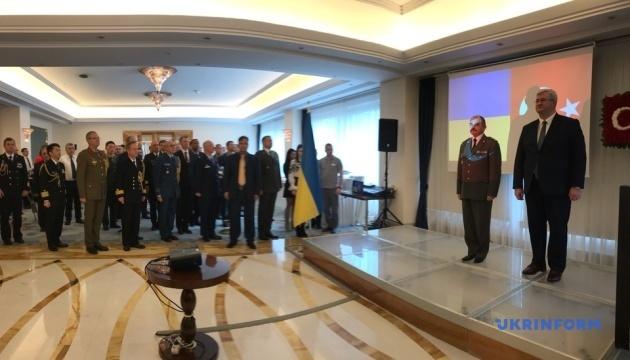 В Анкарі відбувся прийом з нагоди річниці ЗСУ