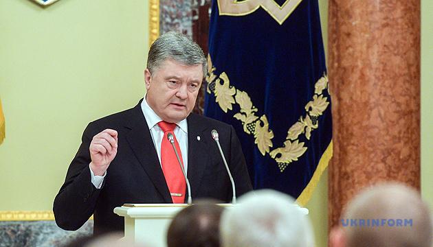 Poroschenko: Beweise über Verbrechen Russlands gegen Ukraine werden in Den Haag eingereicht