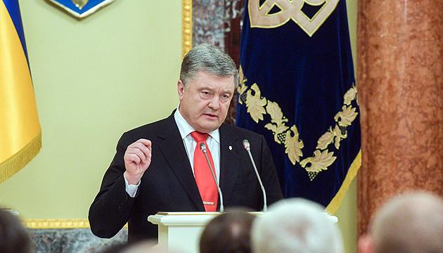Poroshenko: La OTAN puede proteger los mares Negro y de Azov de la ocupación rusa
