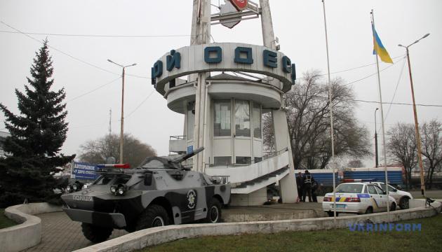 Блокпосты под Одессой усилили бронетехникой и минометами