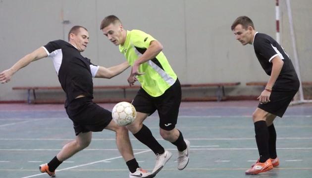 Збірна журналістів України з міні-футболу перемогла на турнірі «Кубок Захисника»