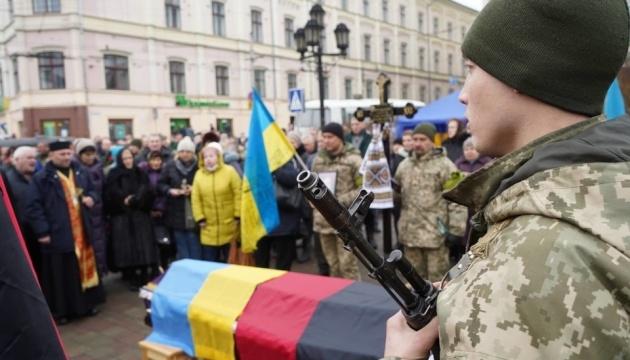 У Чернівцях попрощалися із загиблим на Донбасі бійцем ЗСУ