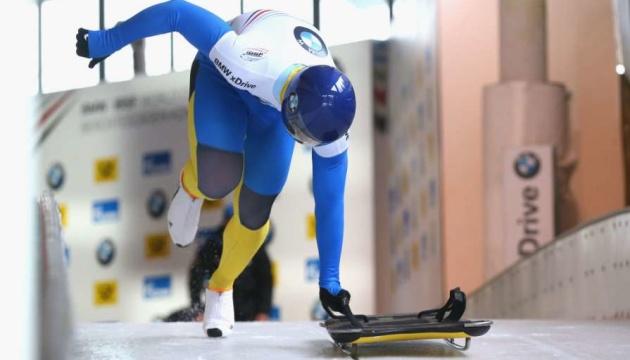 Скелетон: українець Гераскевич показав найкращий результат в кар'єрі на етапі Кубка світу