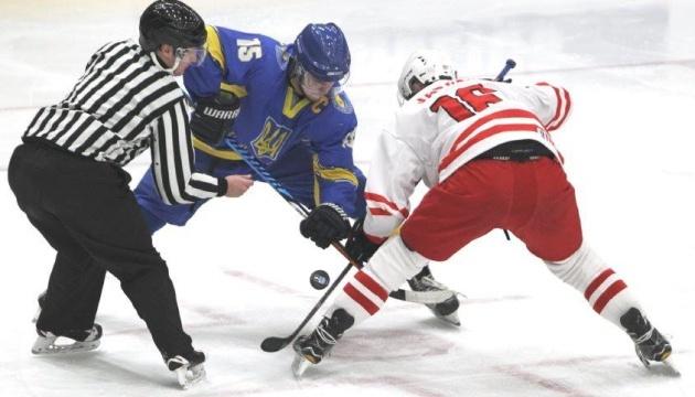 Україна програла Польщі у стартовому матчі молодіжного чемпіонату світу з хокею