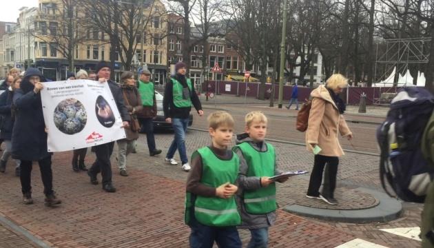 В Нидерландах пикетировали за уменьшение количества абортов