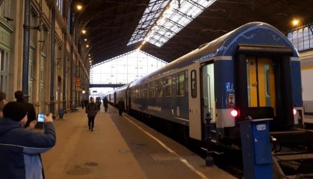 З Будапешта до Мукачева вирушив перший потяг інтерсіті