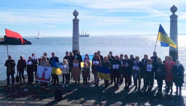 У Португалії українці виступили із закликом визнати дії РФ у Керченській протоці актом прямої агресії