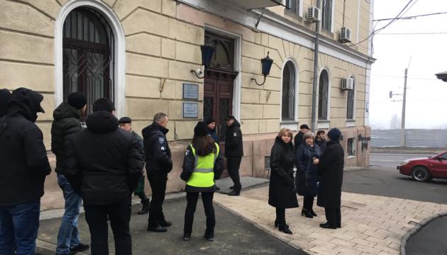 В Одеському медуніверситеті заявляють про рейдерів у ректораті