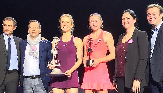 Українська тенісистка Світоліна вдруге виграла показовий турнір Open de Caen