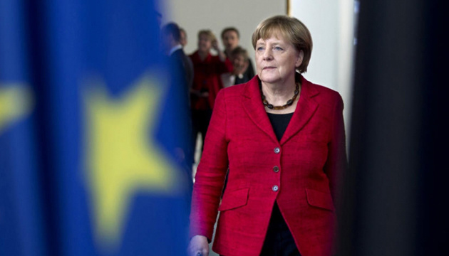 Merkel: EU can't accept 'actual claims' of Moscow to Sea of Azov
