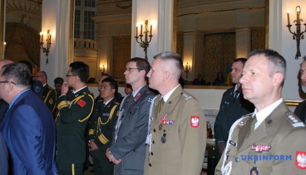 In Warschau fand offizieller Empfang anlässlich ukrainischer Streitkräfte statt