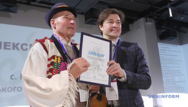 Скрипаль із Закарпаття отримав премію за збереження культурної спадщини