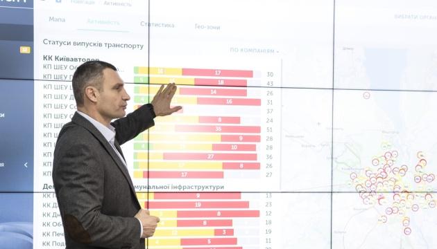 Кличко відкрив диспетчерський центр моніторингу роботи комунальників