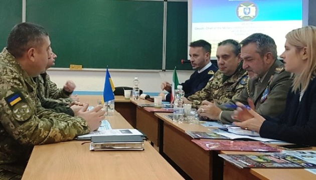 Ukraine, Italy discuss joint training of cyber security experts. Photos