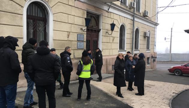 Захоплення Одеського вишу: МОЗ спростовує заяву поліції про