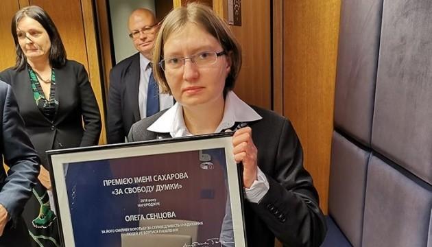 Prix Sakharov pour Oleg Sentsov (vidéo)