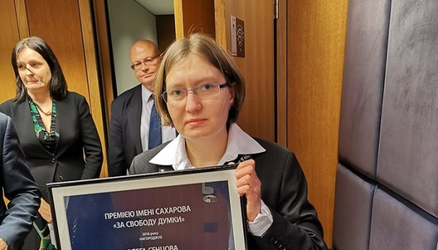 Prix Sakharov pour Oleg Sentsov