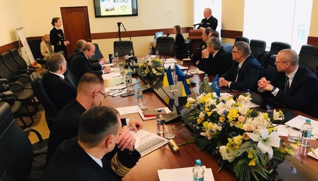 Ukrainian sailors continue training under NATO program
