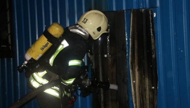 В Киеве горели магазины стройматериалов