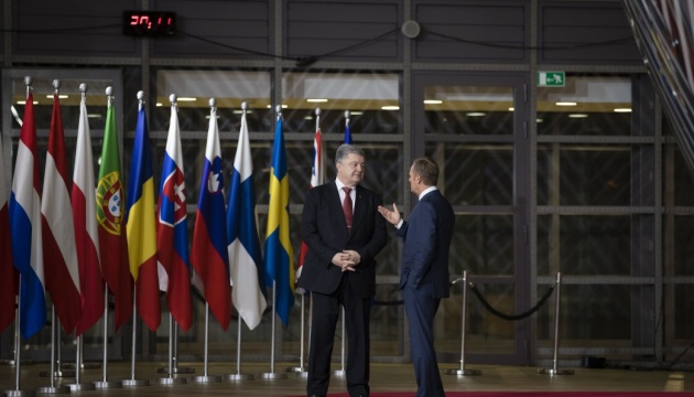 Poroshenko gives Tusk, Stoltenberg lists of Russians involved in capture of Ukrainian sailors