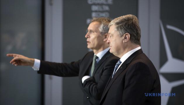 Порошенко передав Туску й Столтенбергу списки росіян, причетних до захоплення моряків